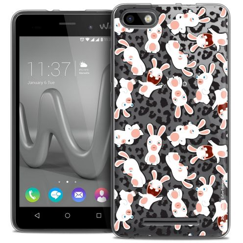 Coque Gel Wiko Lenny 3 Extra Fine Lapins Crétins™ - Leopard Pattern