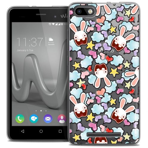 Coque Gel Wiko Lenny 3 Extra Fine Lapins Crétins™ - Love Pattern