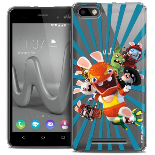 Coque Gel Wiko Lenny 3 Extra Fine Lapins Crétins™ - Super Heros