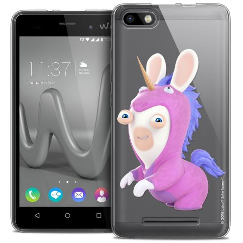 Coque Gel Wiko Lenny 3 Extra Fine Lapins Crétins™ - Licorne