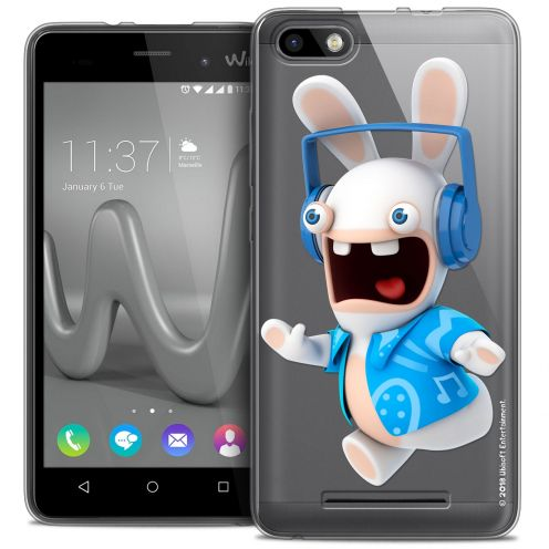 Coque Gel Wiko Lenny 3 Extra Fine Lapins Crétins™ - Techno Lapin