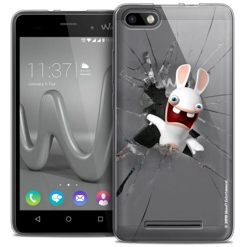 Coque Gel Wiko Lenny 3 Extra Fine Lapins Crétins™ - Breaking Glass