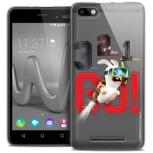 Coque Gel Wiko Lenny 3 Extra Fine Lapins Crétins™ - 321 Go !