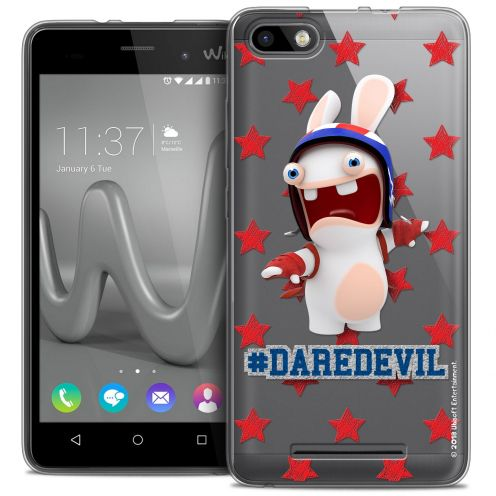 Coque Gel Wiko Lenny 3 Extra Fine Lapins Crétins™ - Dare Devil