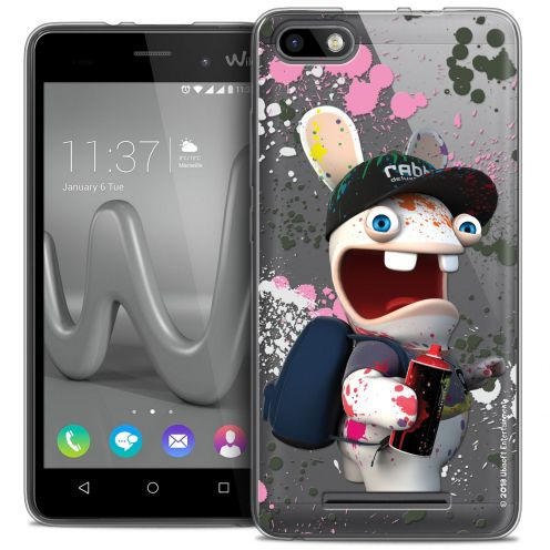 Coque Gel Wiko Lenny 3 Extra Fine Lapins Crétins™ - Painter