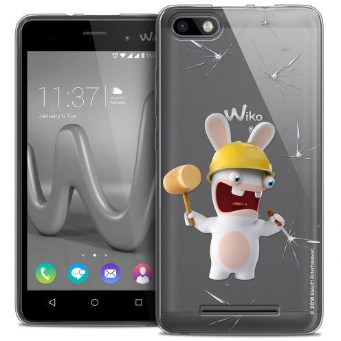 Coque Gel Wiko Lenny 3 Extra Fine Lapins Crétins™ - Breaker