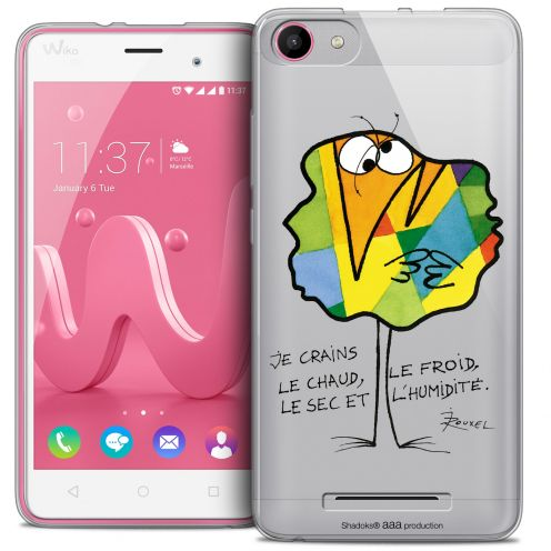 Coque Gel Wiko Jerry Extra Fine Les Shadoks® - Chaud ou Froid