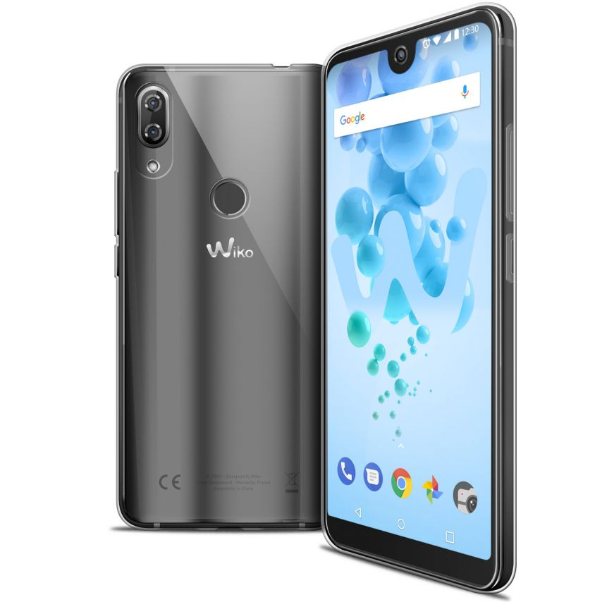 "Coque Wiko View 2 PRO (6.0"") Extra Fine Souple Crystal Clear"