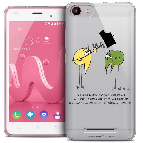 Coque Gel Wiko Jerry Extra Fine Les Shadoks® - A Force
