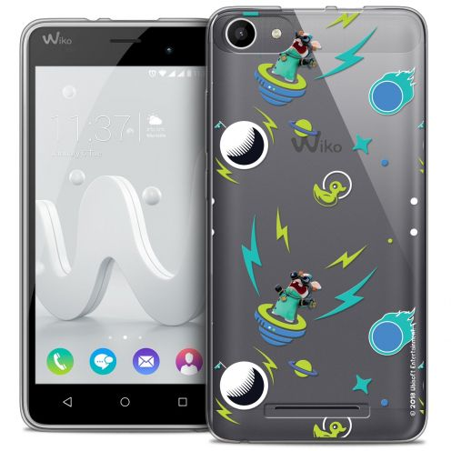 Coque Gel Wiko Jerry Extra Fine Lapins Crétins™ - Space 1