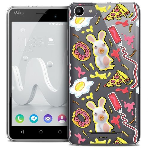 Coque Gel Wiko Jerry Extra Fine Lapins Crétins™ - Egg Pattern