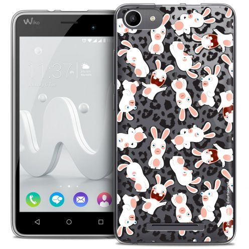Coque Gel Wiko Jerry Extra Fine Lapins Crétins™ - Leopard Pattern