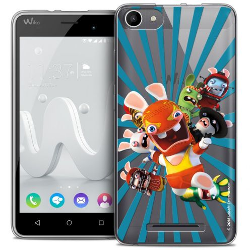 Coque Gel Wiko Jerry Extra Fine Lapins Crétins™ - Super Heros