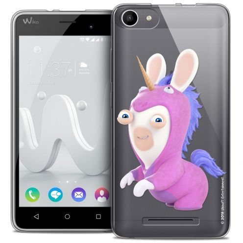 Coque Gel Wiko Jerry Extra Fine Lapins Crétins™ - Licorne