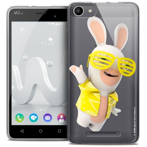 Coque Gel Wiko Jerry Extra Fine Lapins Crétins™ - Sun Glassss!