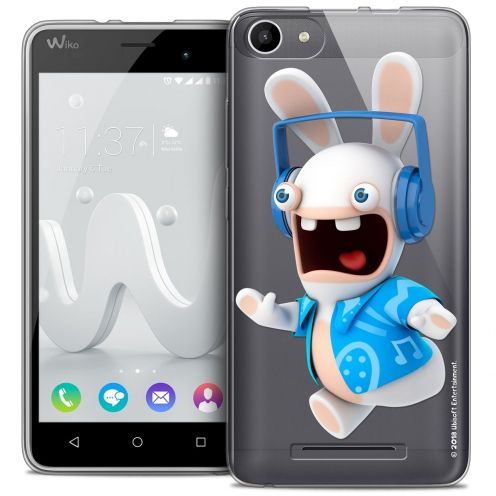Coque Gel Wiko Jerry Extra Fine Lapins Crétins™ - Techno Lapin