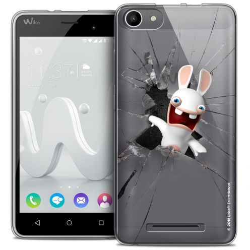 Coque Gel Wiko Jerry Extra Fine Lapins Crétins™ - Breaking Glass