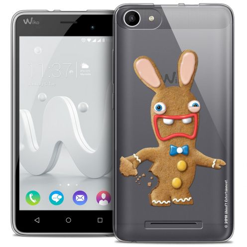 Coque Gel Wiko Jerry Extra Fine Lapins Crétins™ - Cookie