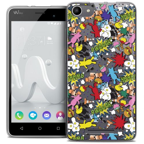 Coque Gel Wiko Jerry Extra Fine Lapins Crétins™ - Bwaaah Pattern