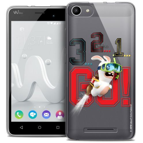 Coque Gel Wiko Jerry Extra Fine Lapins Crétins™ - 321 Go !