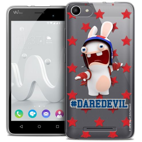 Coque Gel Wiko Jerry Extra Fine Lapins Crétins™ - Dare Devil