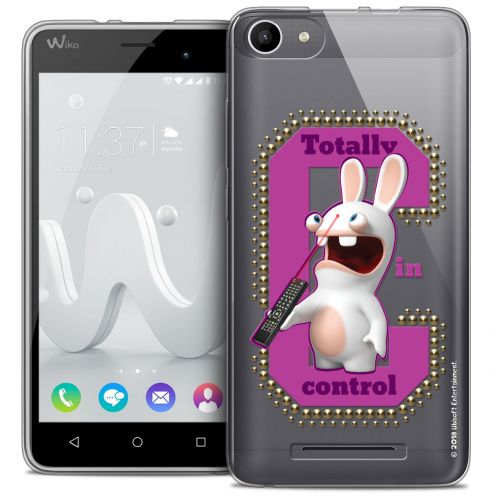Coque Gel Wiko Jerry Extra Fine Lapins Crétins™ - In Control !