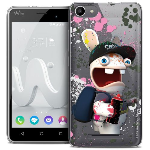 Coque Gel Wiko Jerry Extra Fine Lapins Crétins™ - Painter