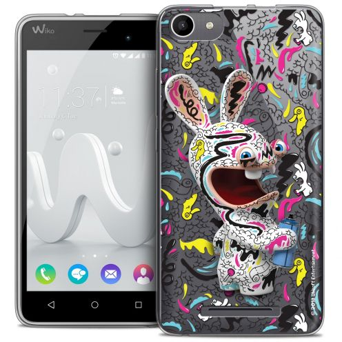 Coque Gel Wiko Jerry Extra Fine Lapins Crétins™ - Tag