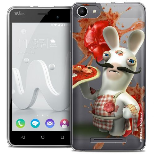 Coque Gel Wiko Jerry Extra Fine Lapins Crétins™ - Cuisinier