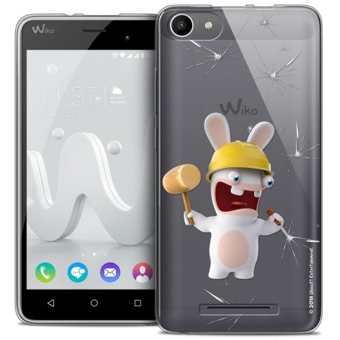 Coque Gel Wiko Jerry Extra Fine Lapins Crétins™ - Breaker