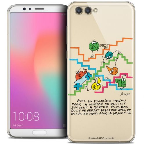 "Coque Gel Honor View 10 / V10 (6"") Extra Fine Les Shadoks® - L'escalier"