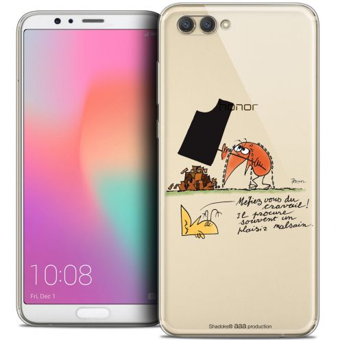 "Coque Gel Honor View 10 / V10 (6"") Extra Fine Les Shadoks® - Le Travail"