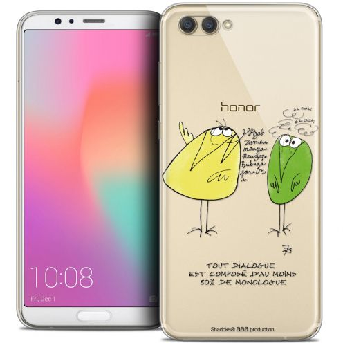 "Coque Gel Honor View 10 / V10 (6"") Extra Fine Les Shadoks® - Le Dialogue"