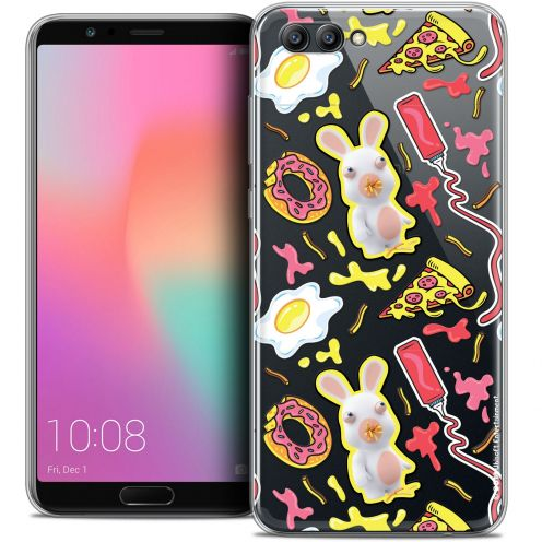 "Coque Gel Honor View 10 / V10 (6"") Extra Fine Lapins Crétins™ - Egg Pattern"