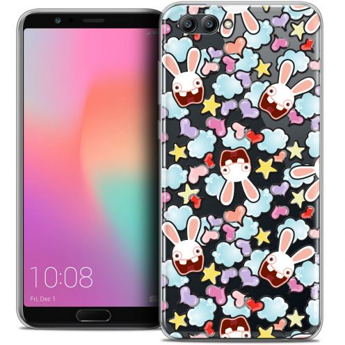 "Coque Gel Honor View 10 / V10 (6"") Extra Fine Lapins Crétins™ - Love Pattern"