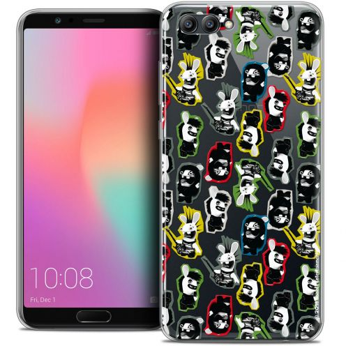 "Coque Gel Honor View 10 / V10 (6"") Extra Fine Lapins Crétins™ - Punk Pattern"