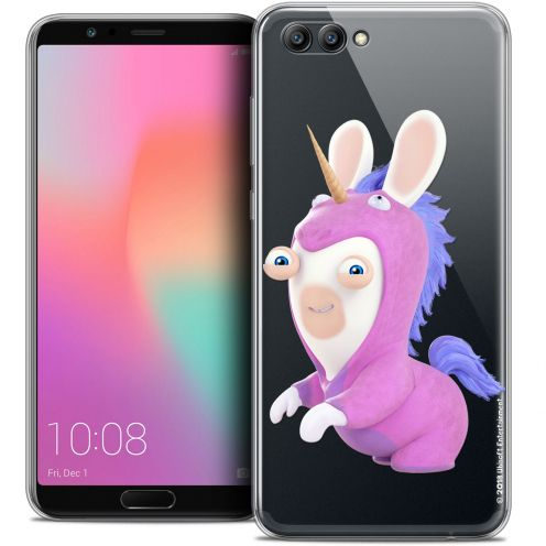 "Coque Gel Honor View 10 / V10 (6"") Extra Fine Lapins Crétins™ - Licorne"
