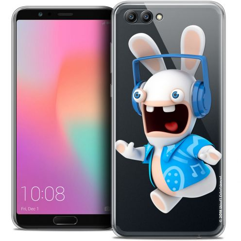 "Coque Gel Honor View 10 / V10 (6"") Extra Fine Lapins Crétins™ - Techno Lapin"