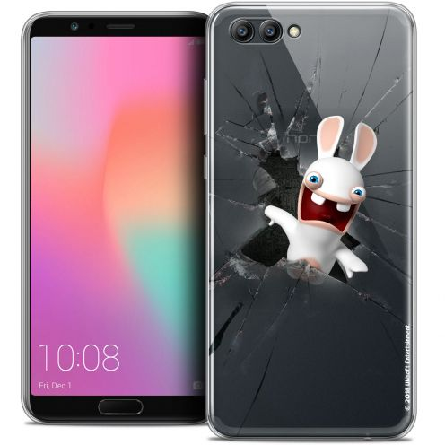 "Coque Gel Honor View 10 / V10 (6"") Extra Fine Lapins Crétins™ - Breaking Glass"