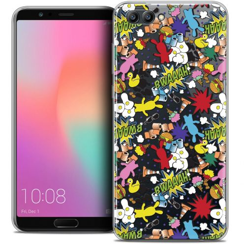 "Coque Gel Honor View 10 / V10 (6"") Extra Fine Lapins Crétins™ - Bwaaah Pattern"