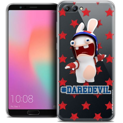 "Coque Gel Honor View 10 / V10 (6"") Extra Fine Lapins Crétins™ - Dare Devil"