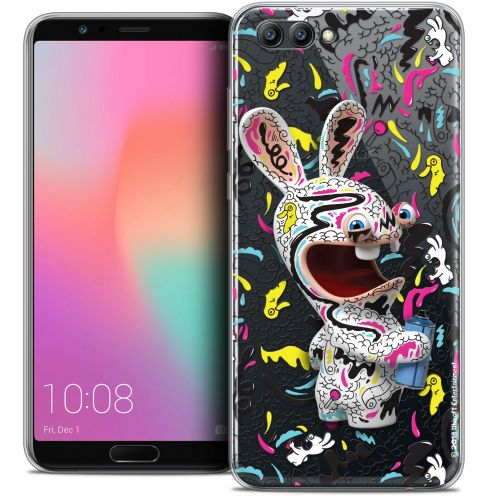 "Coque Gel Honor View 10 / V10 (6"") Extra Fine Lapins Crétins™ - Tag"