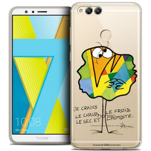 """Coque Gel Honor 7X (5.9"""") Extra Fine Les Shadoks® - Chaud ou Froid"""