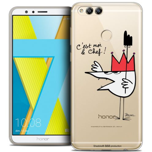"Coque Gel Honor 7X (5.9"") Extra Fine Les Shadoks® - Le Chef"