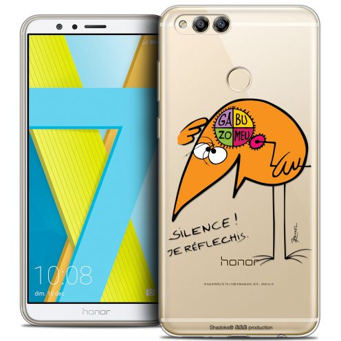 "Coque Gel Honor 7X (5.9"") Extra Fine Les Shadoks® - Silence !"