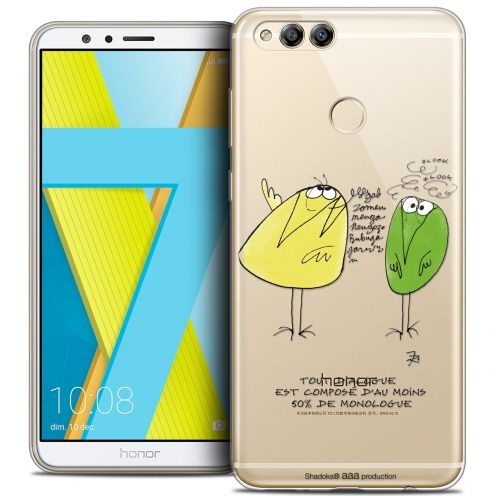 "Coque Gel Honor 7X (5.9"") Extra Fine Les Shadoks® - Le Dialogue"