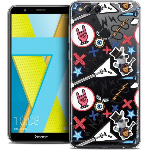 "Coque Gel Honor 7X (5.9"") Extra Fine Lapins Crétins™ - Rock Pattern"
