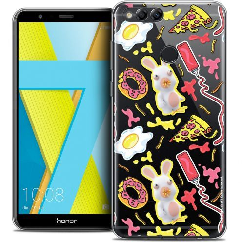 "Coque Gel Honor 7X (5.9"") Extra Fine Lapins Crétins™ - Egg Pattern"
