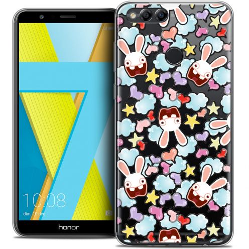 "Coque Gel Honor 7X (5.9"") Extra Fine Lapins Crétins™ - Love Pattern"