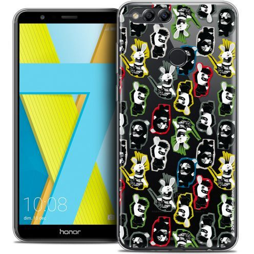 "Coque Gel Honor 7X (5.9"") Extra Fine Lapins Crétins™ - Punk Pattern"
